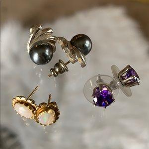 💕Bundle of Three Post Back Earrings 💕